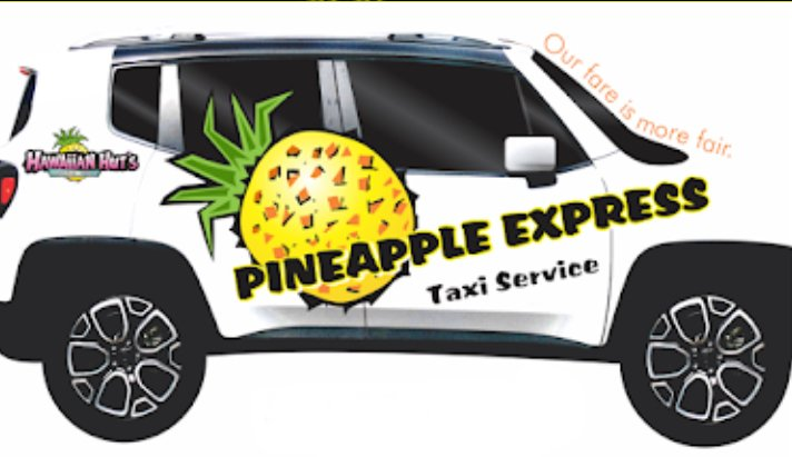 Pineapple Express Taxi Service: Medford, OR