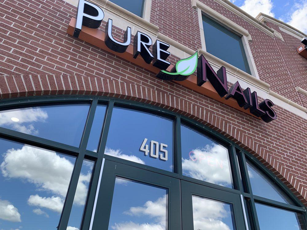 Pure Nails Spa: 405 W Stonewood Hills Dr, Broken Arrow, OK