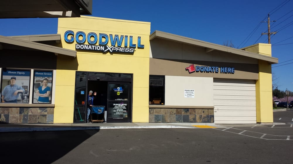 Goodwill Donation: 8865 Madison Ave, Fair Oaks, CA