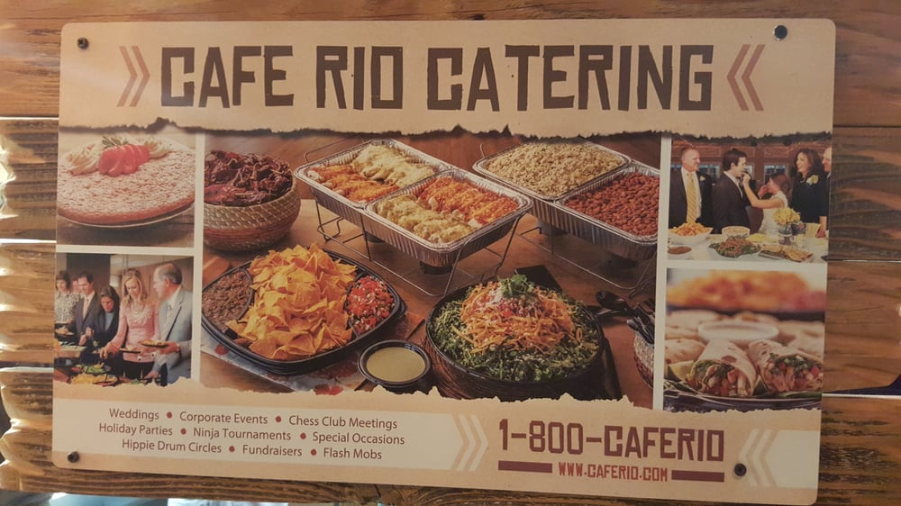Cafe Rio Catering Salt Lake City