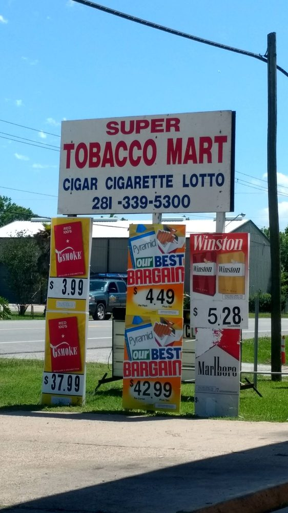 Super Tobacco Mart: 706 Grand Ave, Bacliff, TX