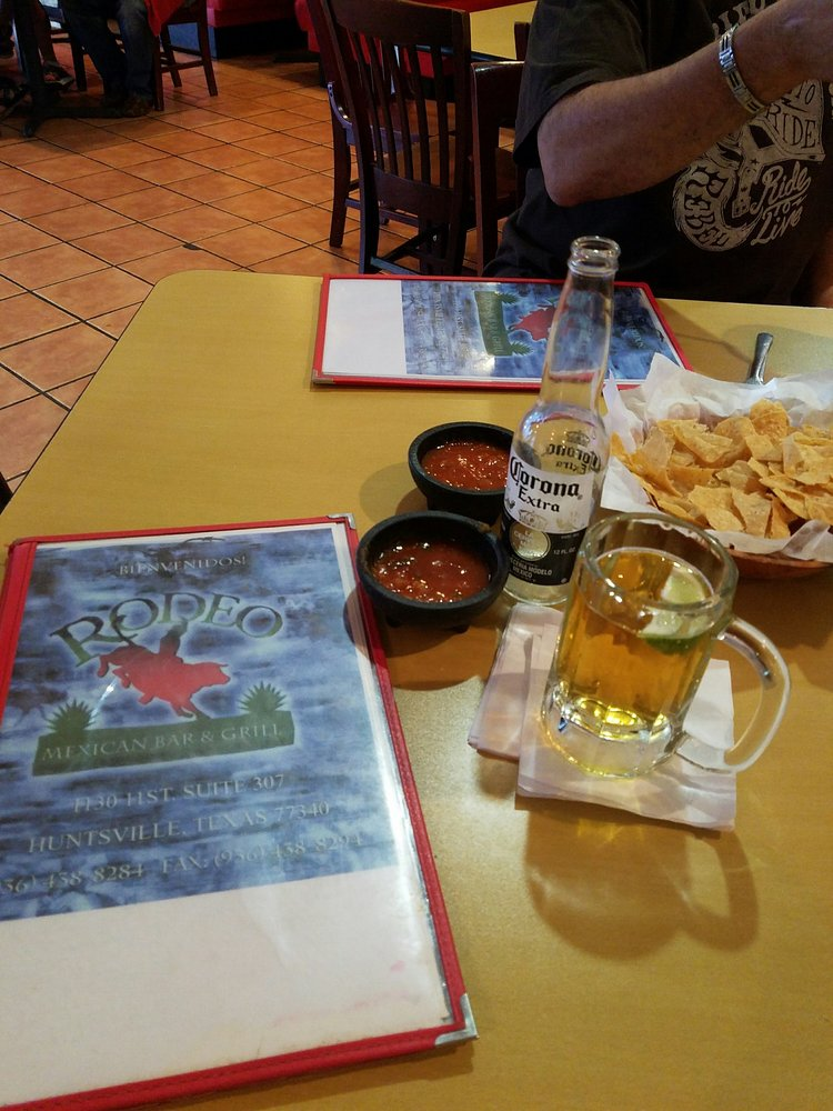 Rodeo Mexican Restaurant Huntsville Tx