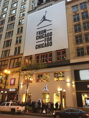 jordan store downtown chicago il