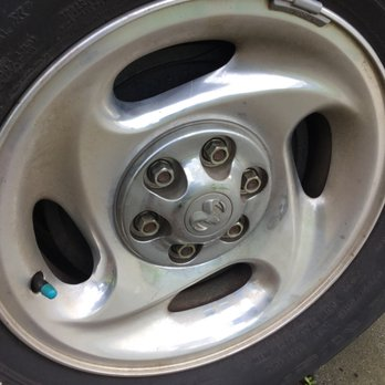 Photo of Pacific Motor Service - Pacific Grove, CA, United States. Handled rim
