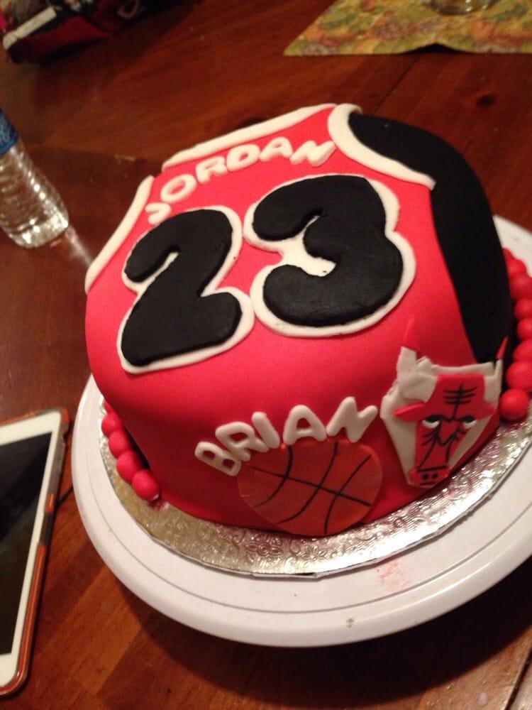 Michael Jordan Jersey Cake Yelp
