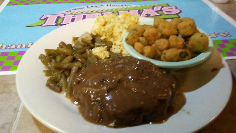 Food from Thelma's Restaurant