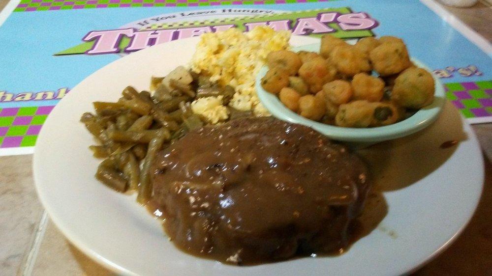 Thelma's Restaurant: 1128 Russell St, Orangeburg, SC