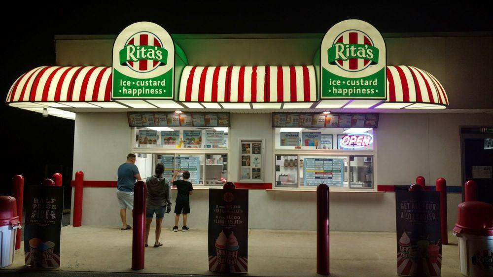 Rita's Italian Ice: 52 East Lawn Rd, Nazareth, PA