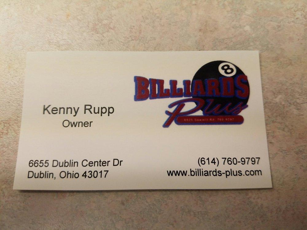 Billiards Plus - Pool & Billiards - 6655 Dublin Center Dr, Dublin ...