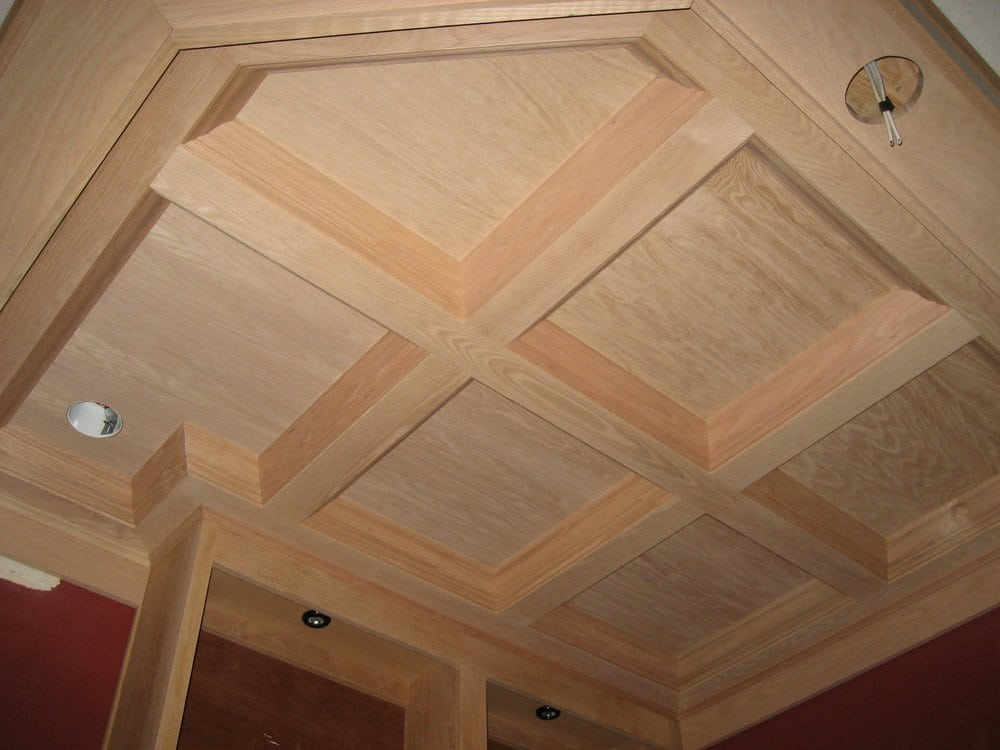 Oak Coffered Ceiling Yelp