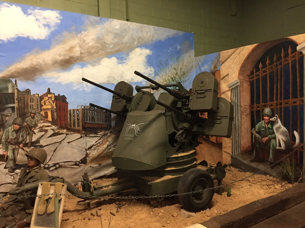 Social Spots from American Armoured Foundation Tank Museum