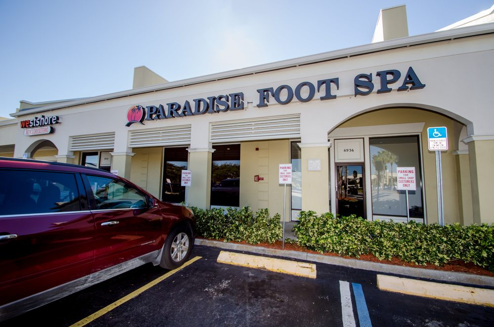 Paradise Foot Spa - Saint Petersburg: 6932 22nd Ave N, Saint Petersburg, FL