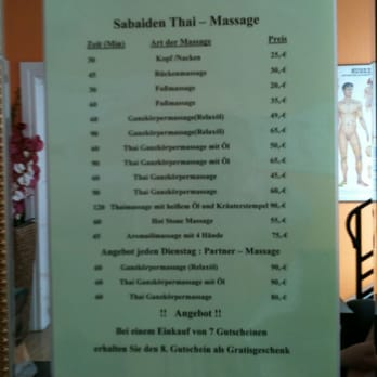 Massage skanstull sabai thaimassage