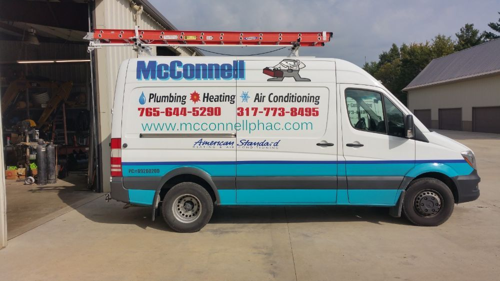 McConnell Plumbing Heating & Air Conditioning: 5132 W State Rd 32, Anderson, IN