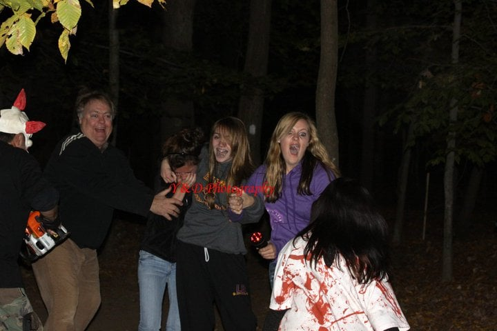 Halloween Woods Haunted Forest: 47001 Fairway Dr, Sterling, VA