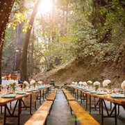 Dinner Tables At Cathedral Photo Of Saratoga Springs Ca United States Grove