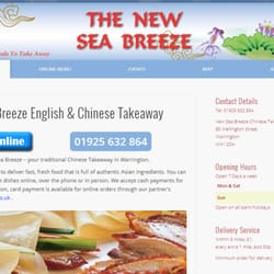 New Sea Breeze - Chinese - 95 Wellington Street, Warrington