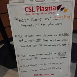 CSL Plasma - Blood & Plasma Donation Centers - 10970 Nee