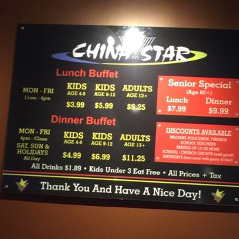 china star 15 photos 43 reviews buffets 10009 broadway st rh yelp com china star buffet price ellettsville indiana asian star china buffet prices