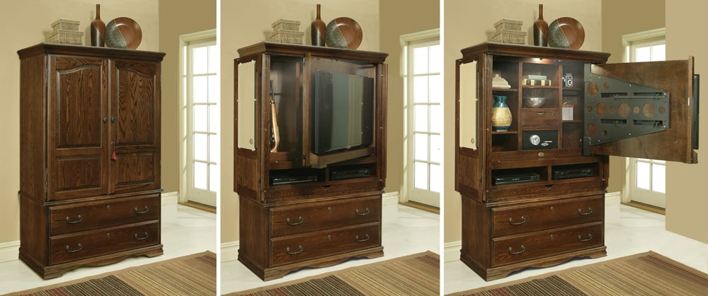 Photo Of Furniture Traditions   Orange, CA, United States. Flat Screen TV  Armoire