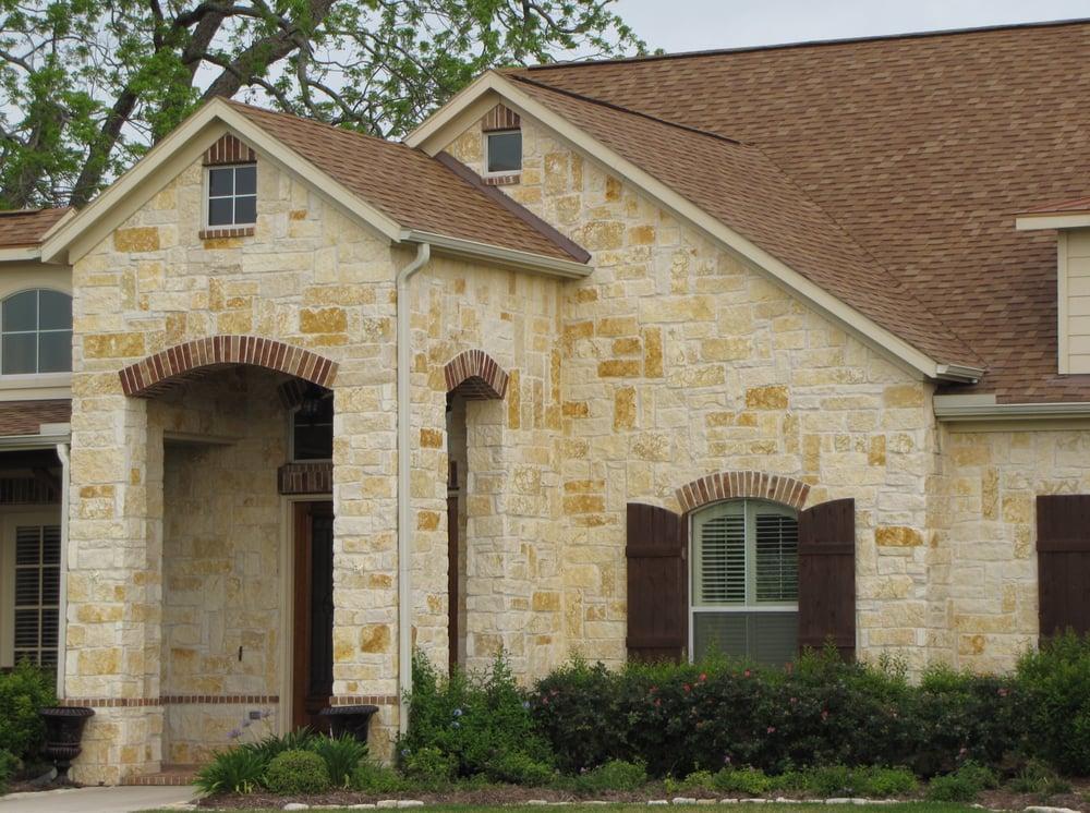 Texas limestone veneer house yelp for Texas house plans limestone