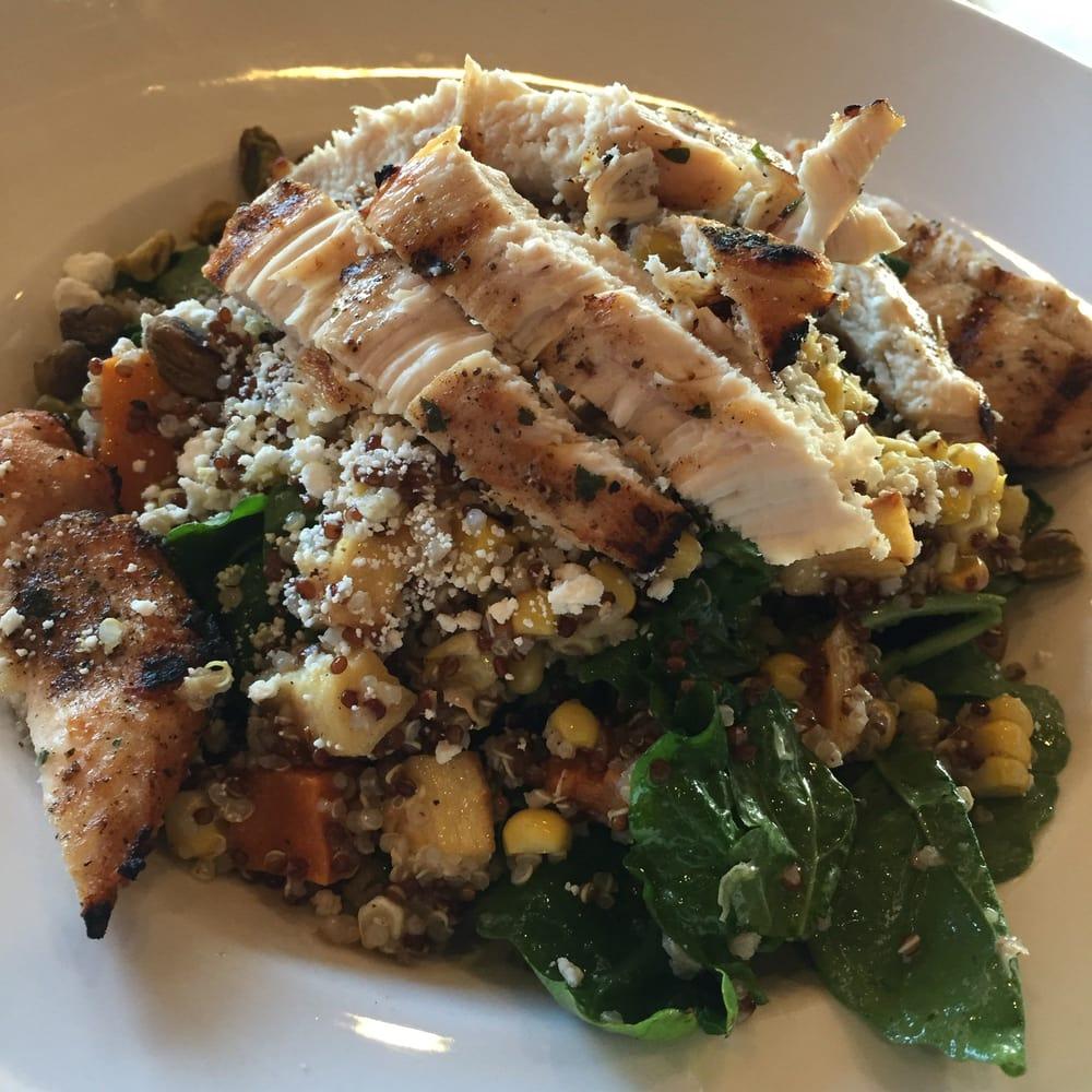 Quinoa salad chicken yelp for 13 american table boca raton fl