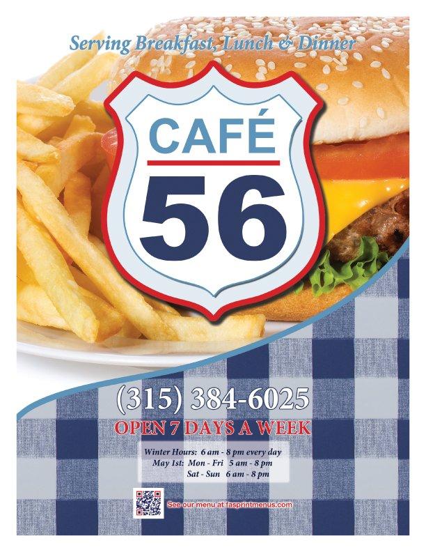 Cafe 56: 61 S Main St, Norfolk, NY