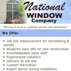 National window co get quote windows installation 2307 9th st photo of national window co bradenton fl united states malvernweather Image collections