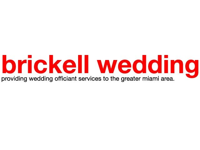 Brickell Wedding