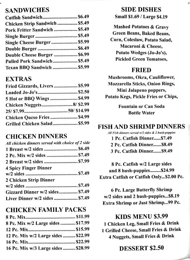 Chicken On the Run: 118 W Jefferson St, Doniphan, MO