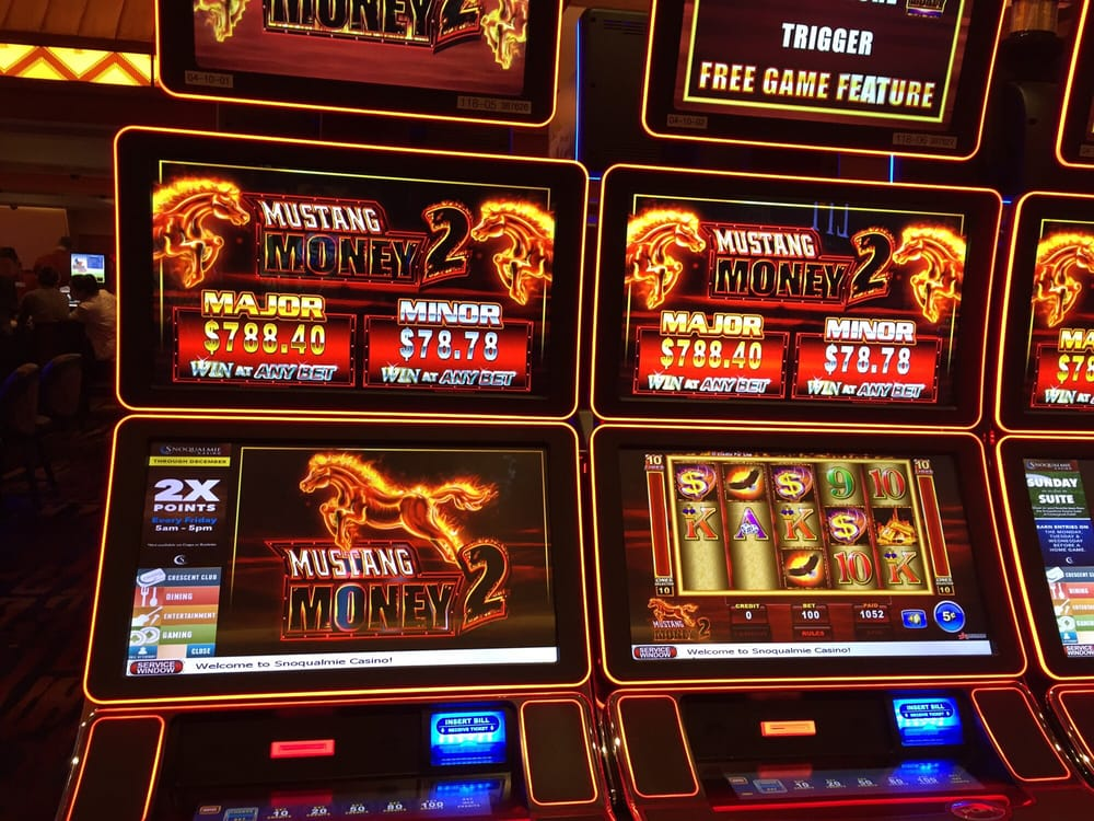 Slot machines at snoqualmie casino