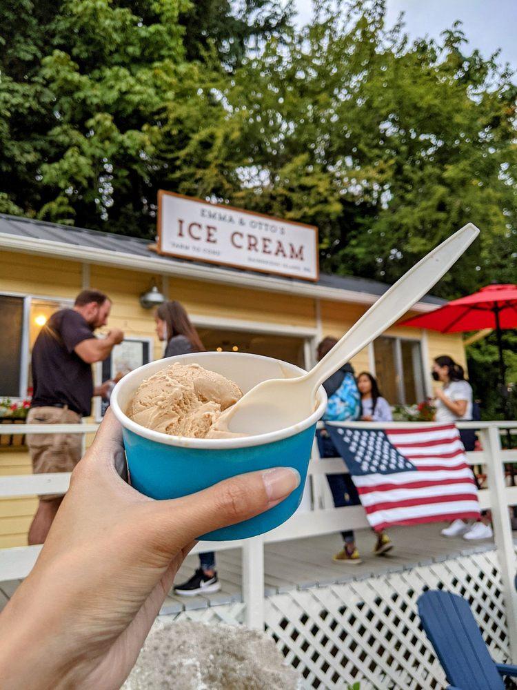 Emma and Otto's Ice Cream: 488 Winslow Way E, Bainbridge Island, WA