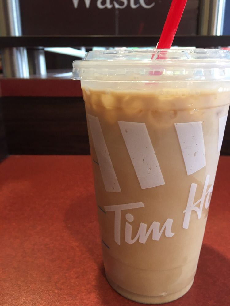 tim hortons mocha iced coffee