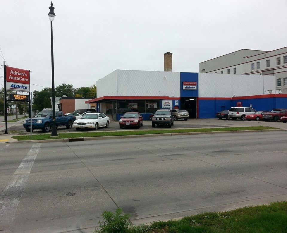 Adrian's Autocare Center: 102 University Dr N, Fargo, ND