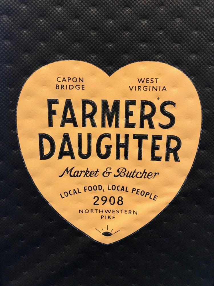 Farmers Daughter Market and Butcher: 2908 Northwestern Pike, Capon Bridge, WV