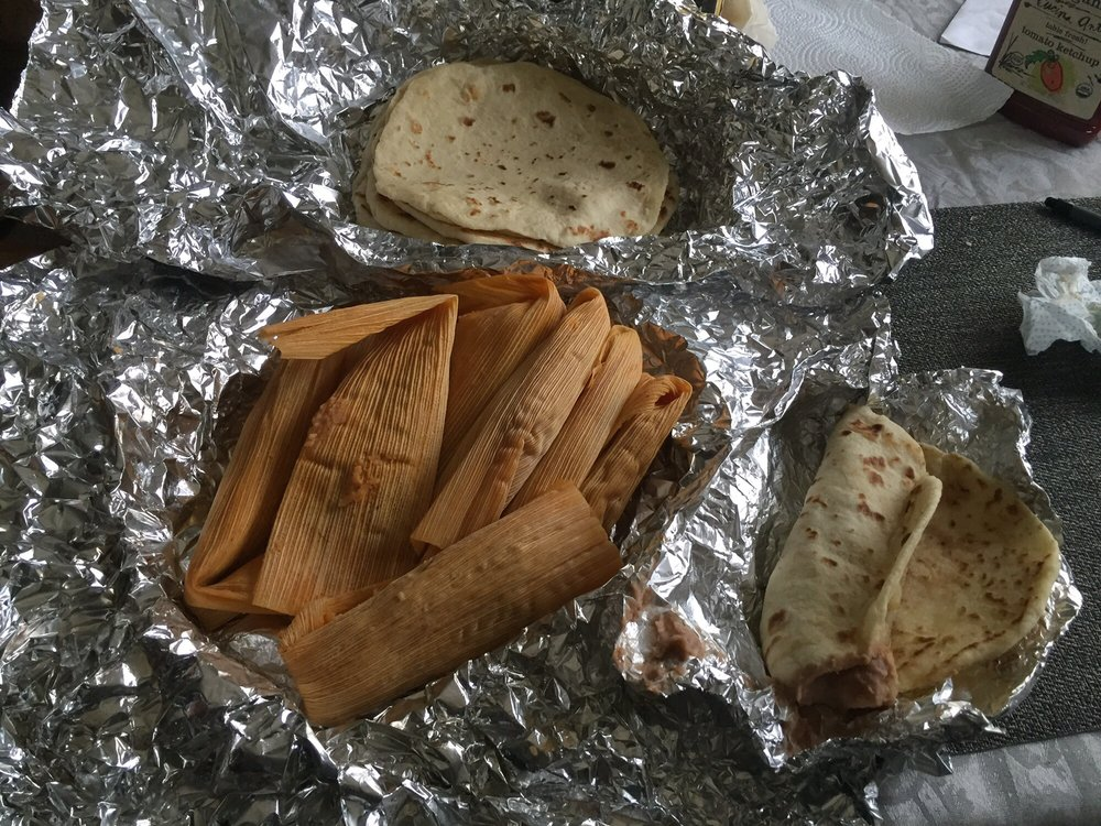 Food from Noe's Tacos