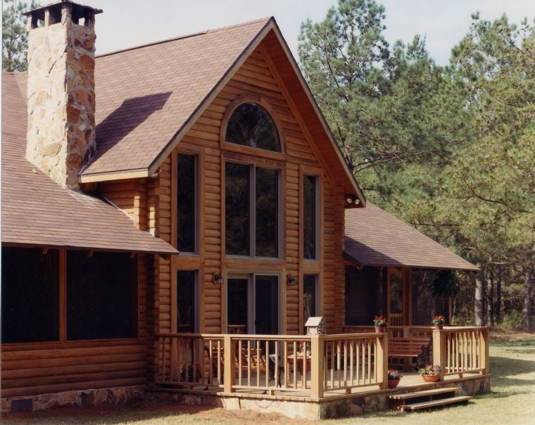 Photo Of B K Cypress Log Homes Western North Carolina Waynesville Nc United