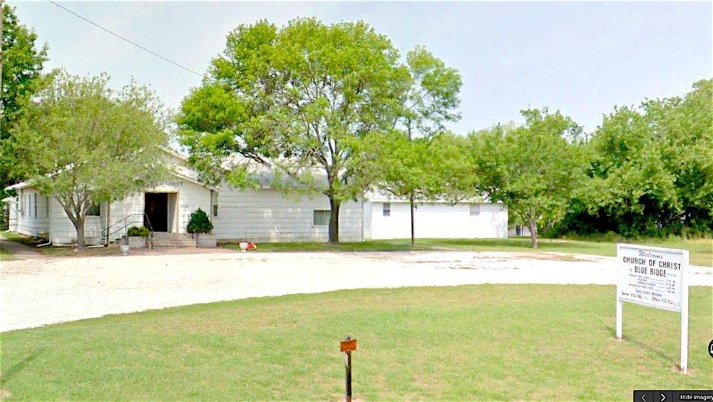 Church of Christ: 100 Bratcher, Blue Ridge, TX