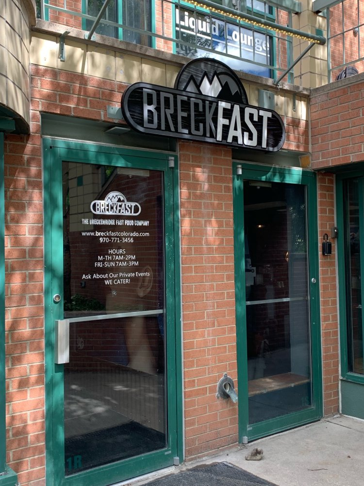 BreckFast: 500 South Main St, Breckenridge, CO