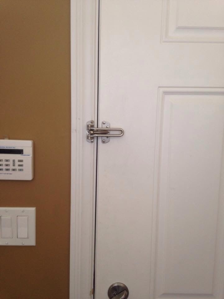 Photo of Fine Lock and Key - Chicago IL United States. Add security & Add security to your home install a Door Security Guard today! - Yelp