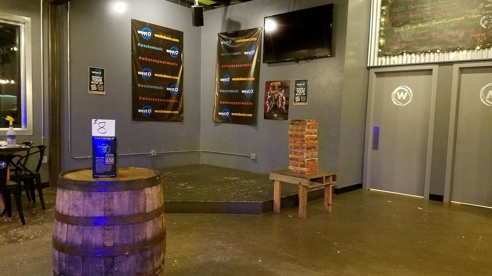 West O Beer: 503 Terrace Park Blvd, Milford, IA