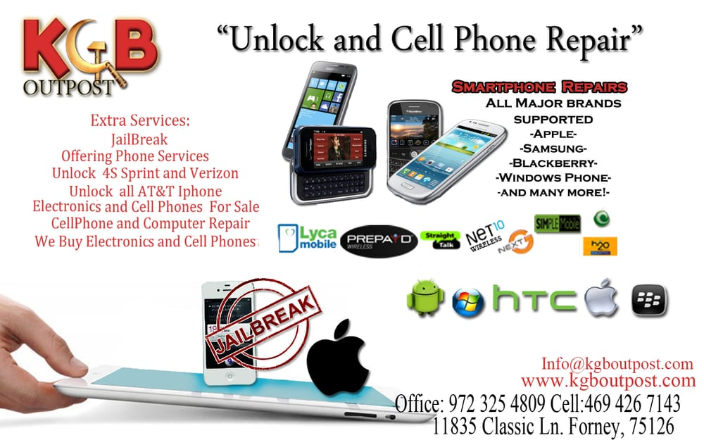 KGB Outpost - Mobile Phone Repair - 11835 Classic Ln, Forney, TX