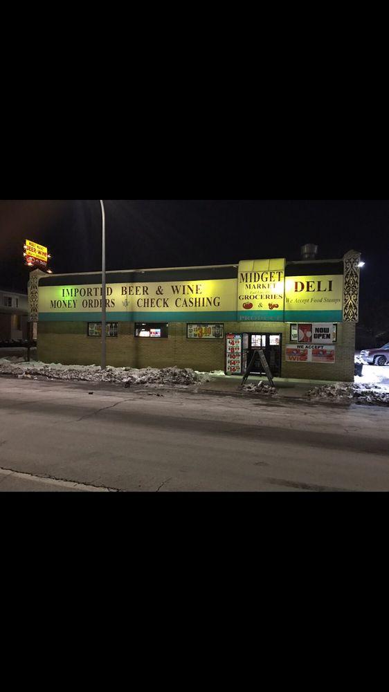 Midget Market Beer & Wine: 4106 W Jefferson Ave, Ecorse, MI