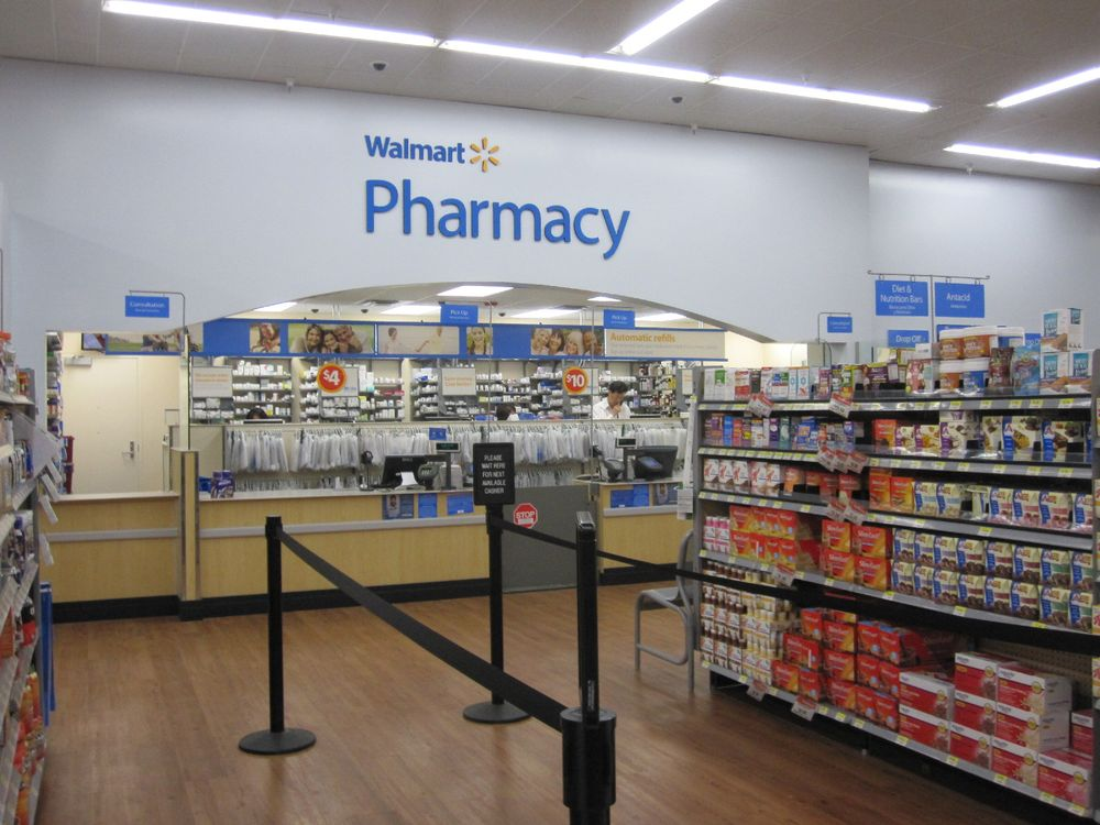 Walmart Pharmacy: 3670 W Oak St, Jena, LA