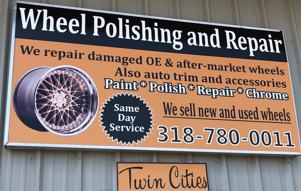 Twin Cities Wheel Polishing & Repair: 3060 Knolin Dr, Bossier City, LA