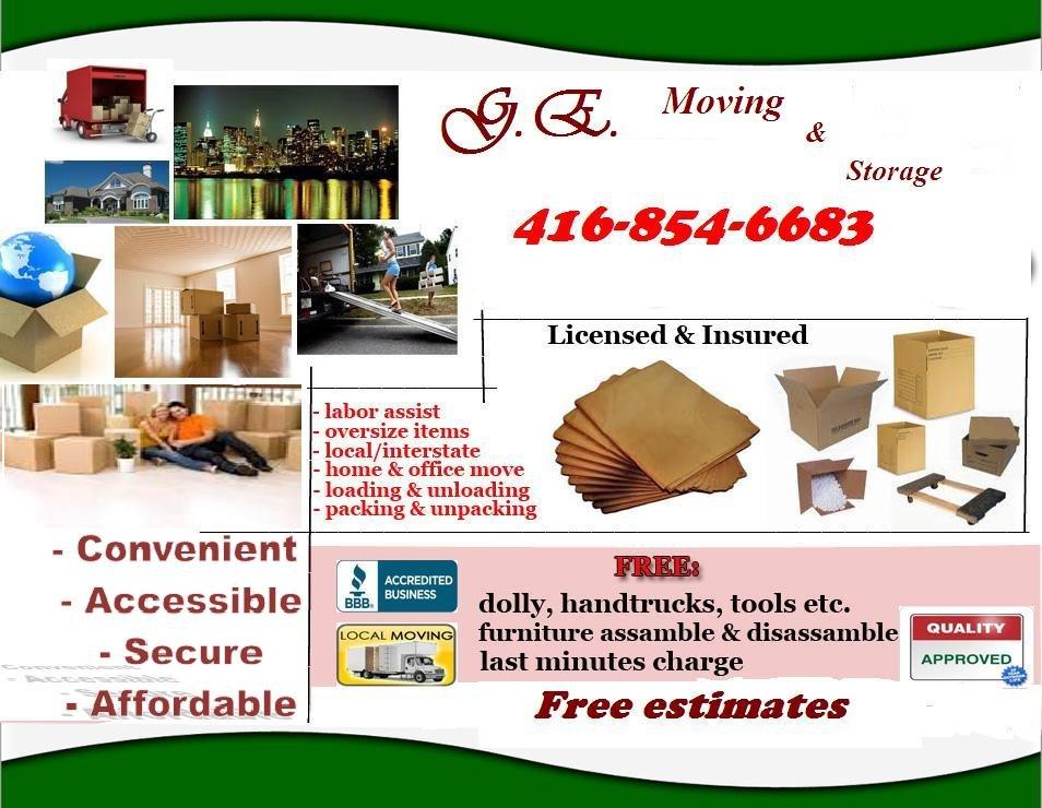 GEM Moving: 1753 Albion Road, Etobicoke, ON