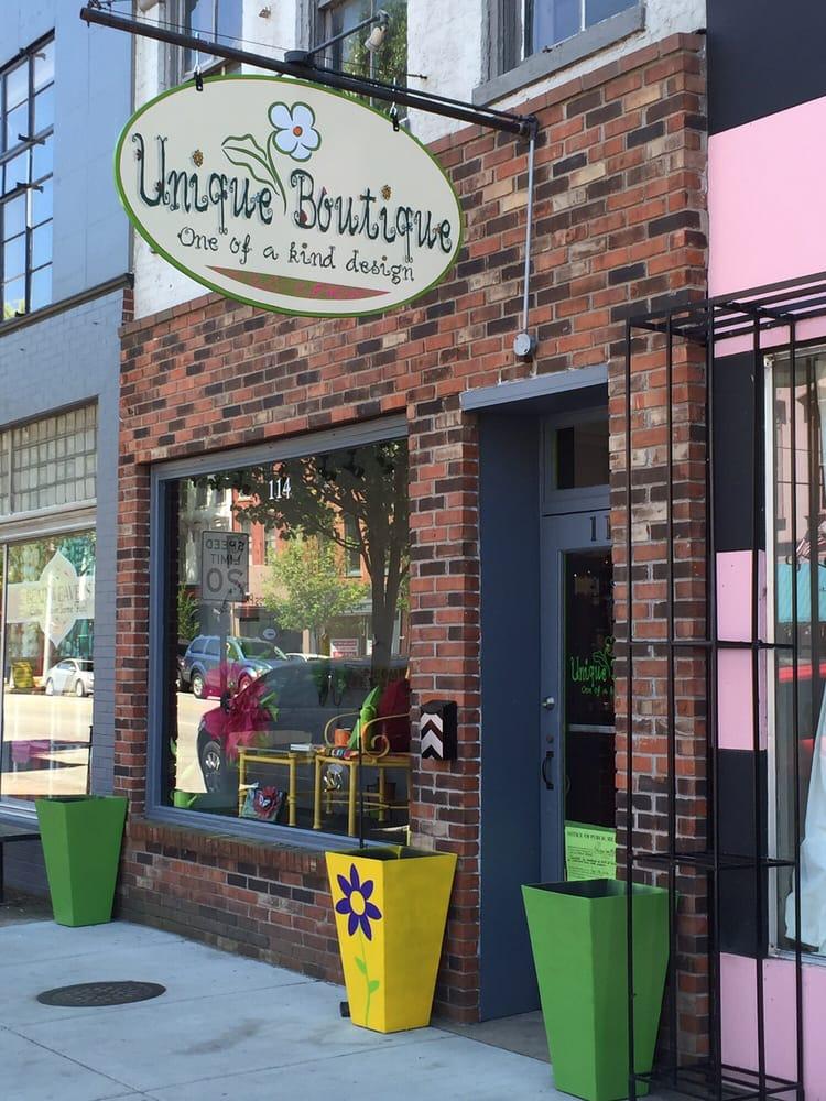Unique Boutique: 118 E Main St, Madison, IN