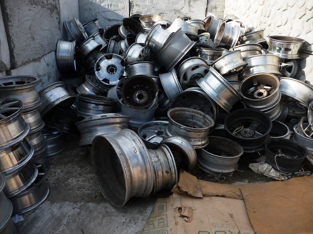 Mazza purchases all types of scrap metals including car rims and ...