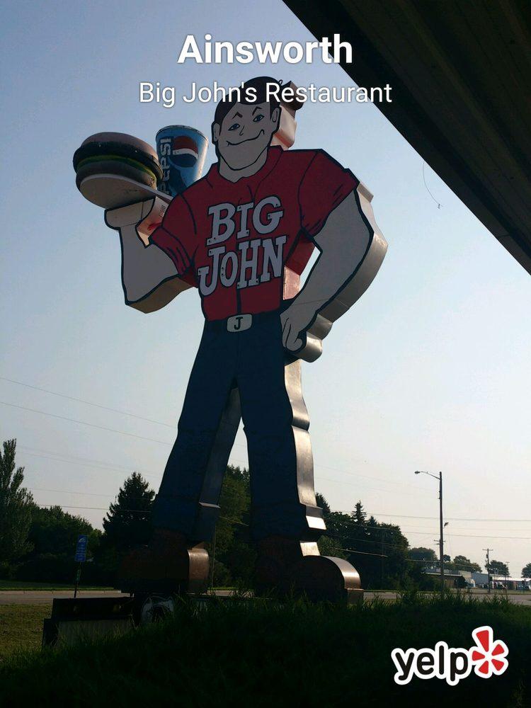 Big John's Restaurant: 1110 E 4th St, Ainsworth, NE
