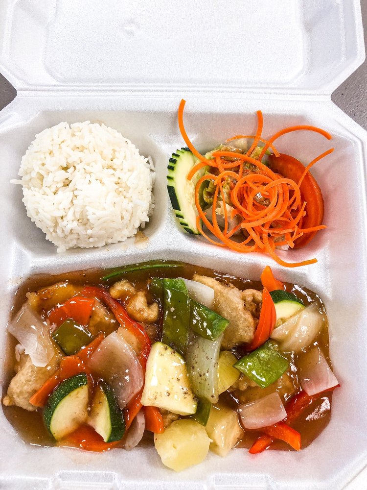 Food from Thai Street Food Kitchen